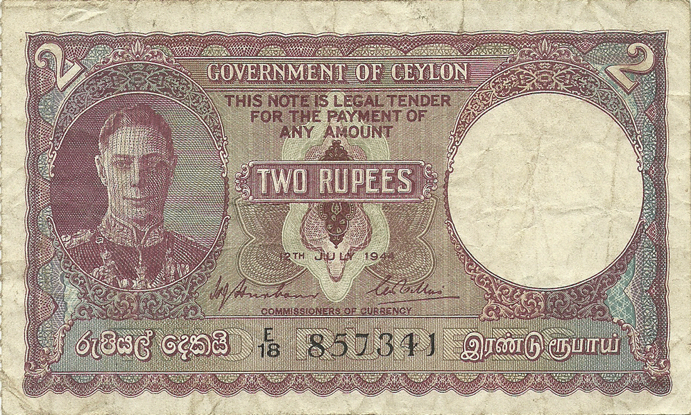 2 Rupees 1944