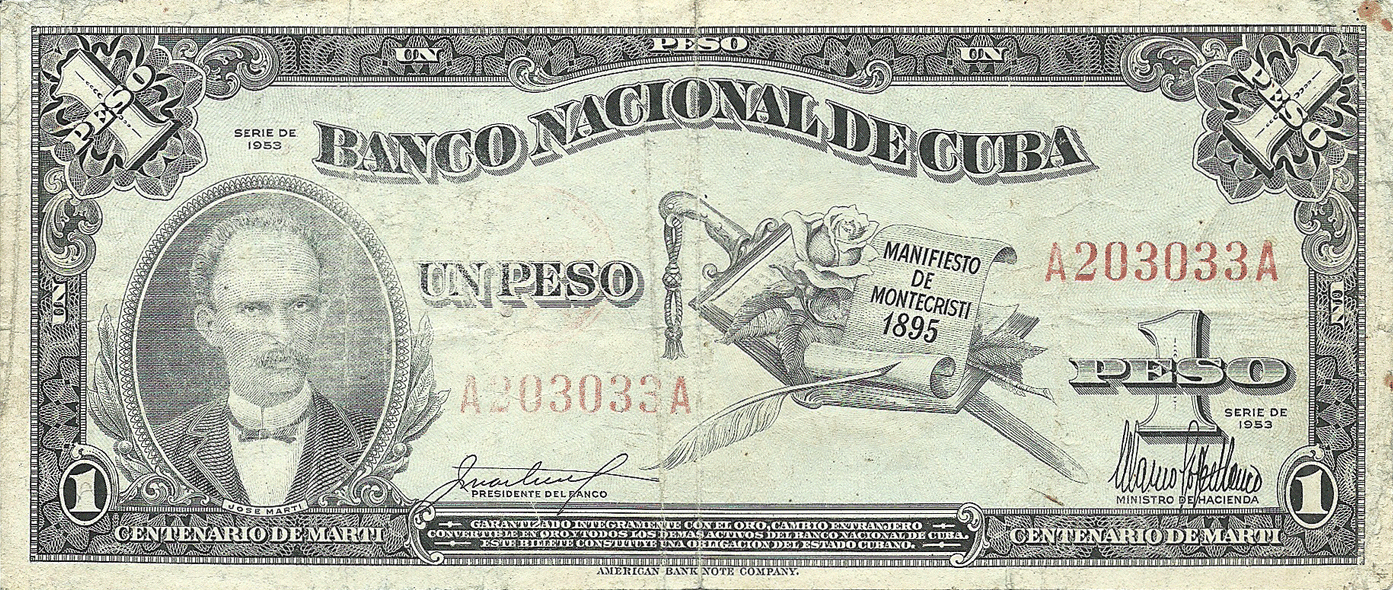 1 Peso 1953, Commemorative
