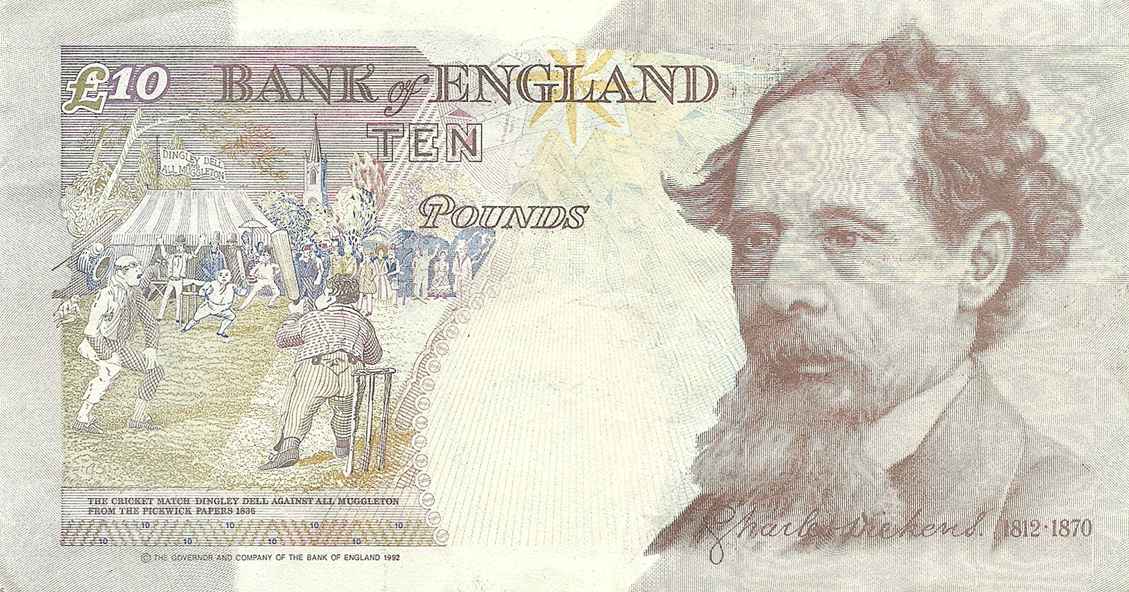 10 Pounds Sterling 1992