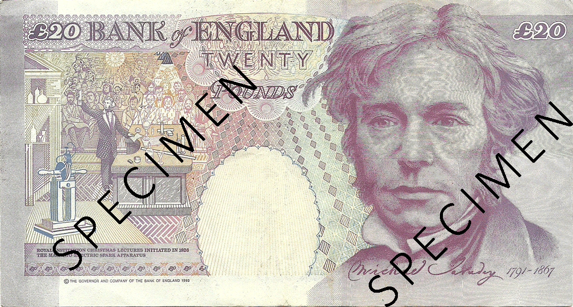 20 Pounds Sterling 1994