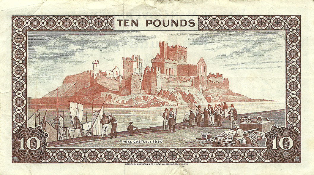 10 Pounds Sterling 1974