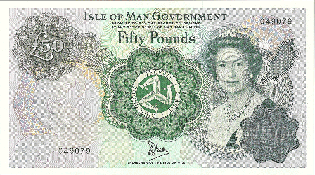 50 Pounds Sterling 1983