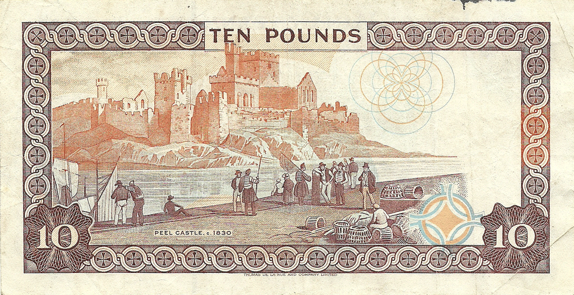 10 Pounds Sterling 2007