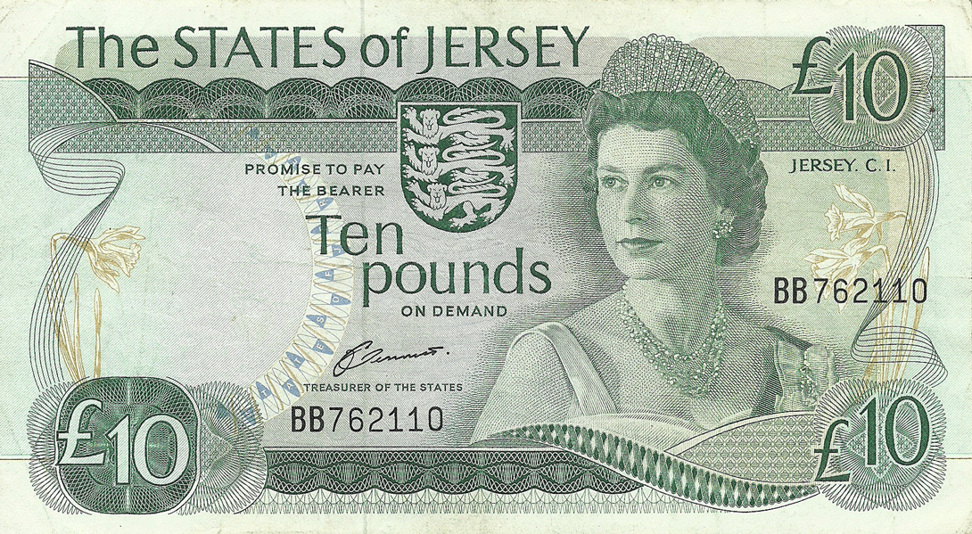 10 Pounds Sterling 1976