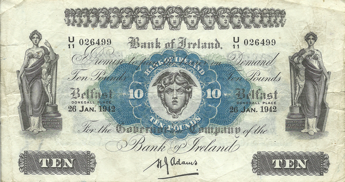 10 Pounds Sterling 1942
