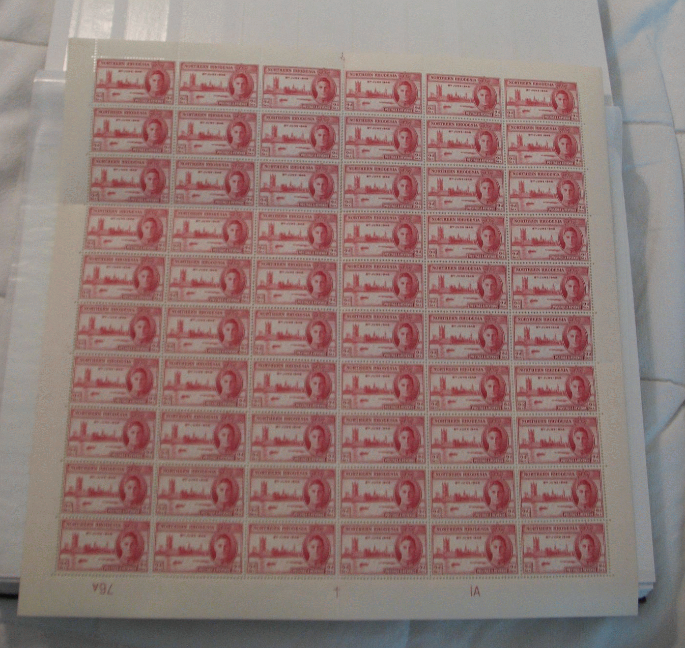 Stamps - Victory in World War II, 1946