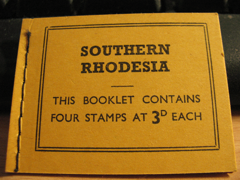 Department of Posts and Telegraphs. Postage stamps value 12/-