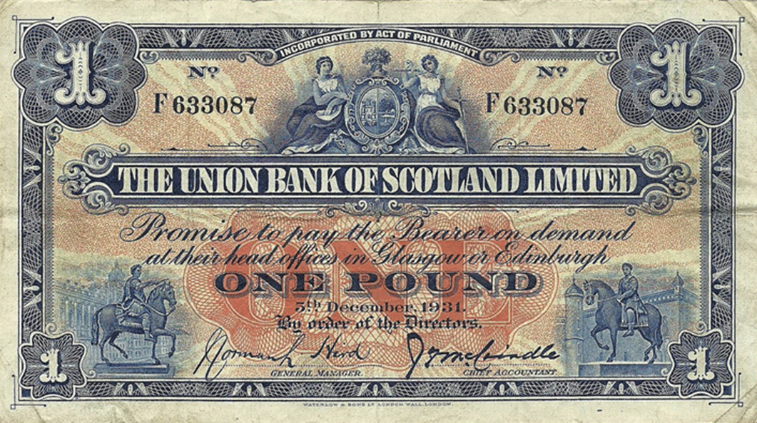 5 Pounds Sterling 1931