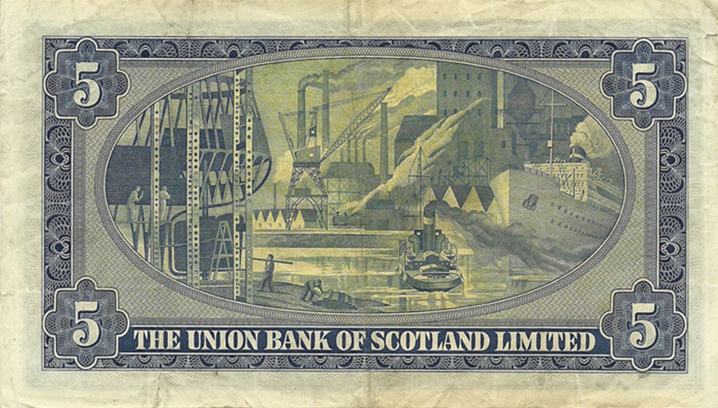 5 Pounds Sterling 1953