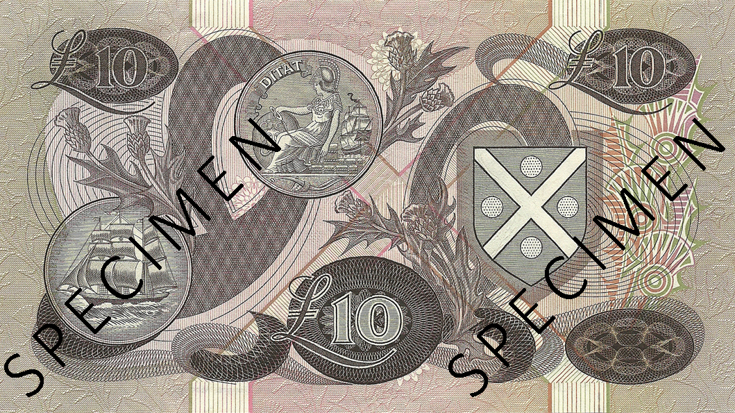 10 Pounds Sterling 1975