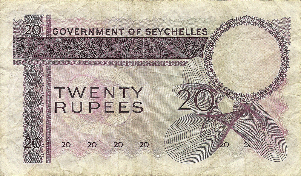 20 Rupees 1974