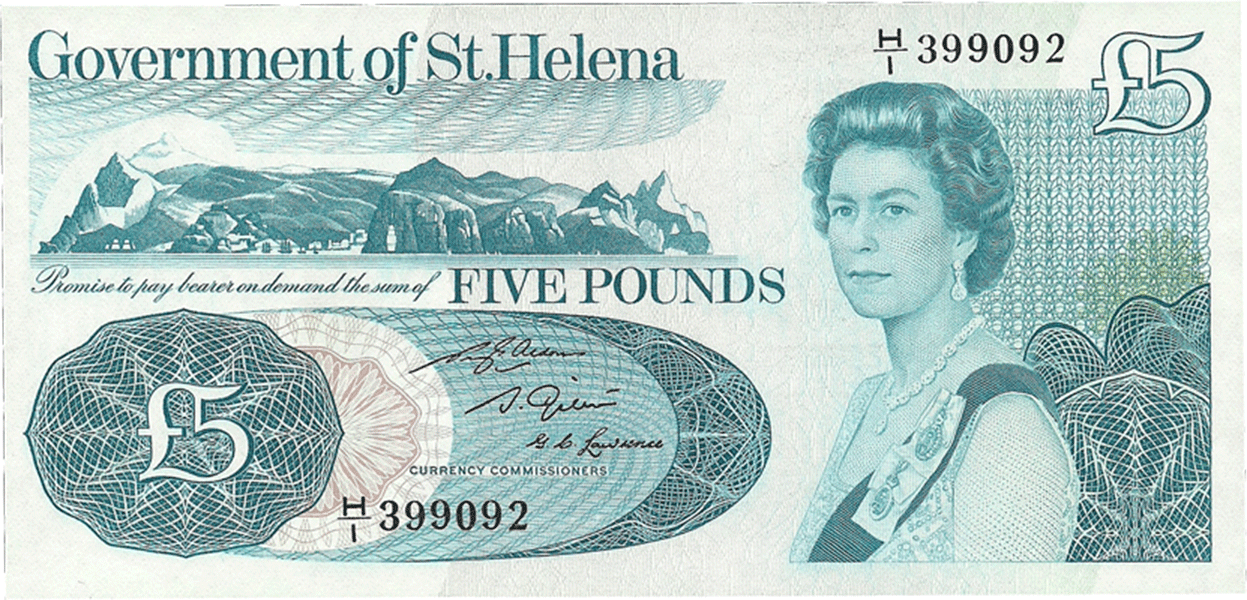 5 Pounds Sterling 1981