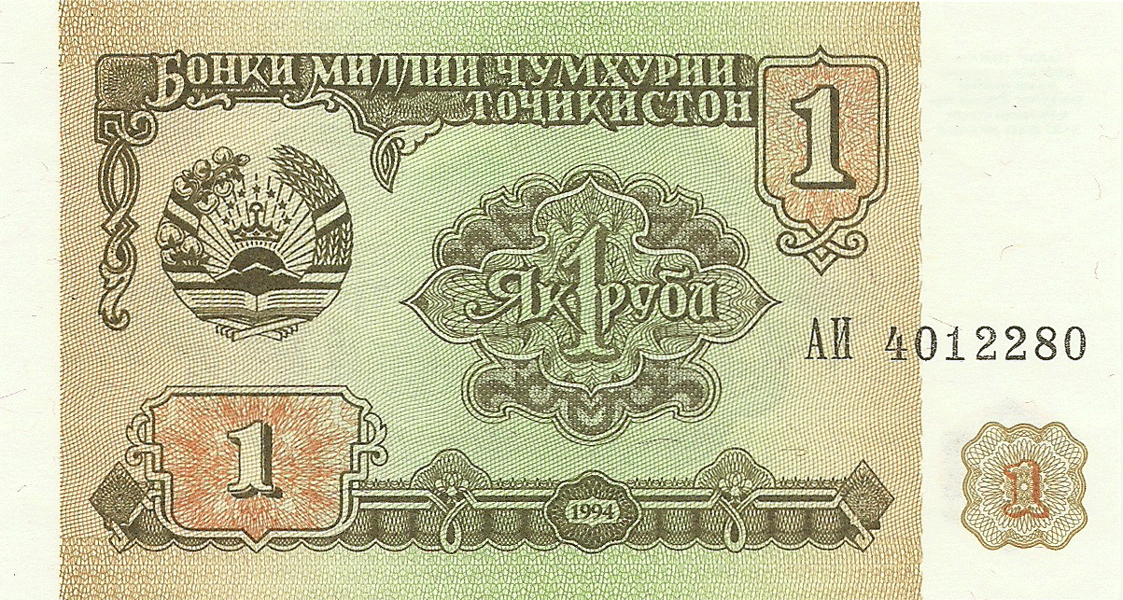 1 Ruble 1995