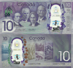 10 Dollars 2017, 150 years Canadian confederation