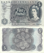 5 Pounds Sterling 1963