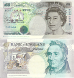 5 Pounds Sterling 1993