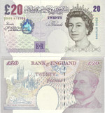 20 Pounds Sterling 2004