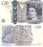 20 Pounds Sterling 2011