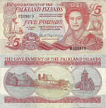 5 Pounds Sterling 2005