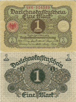 1 Mark 1920. Second Issue