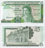5 Pounds Sterling 1988