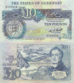 10 Pounds Sterling 1980