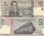 50 Gourdes 2008. Bicentenary of the Haitian Revolution 1804-2004