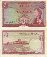 5 Pounds Sterling 1972