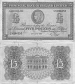 5 Pounds Sterling 1956