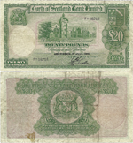 20 Pounds Sterling 1943
