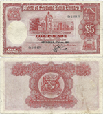 5 Pounds Sterling 1949