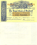5 Pounds Sterling 1961