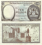 10 Pounds Sterling 1984