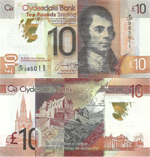 10 Pounds Sterling 2017. World Heritage Site