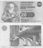 20 Pounds Sterling 1985