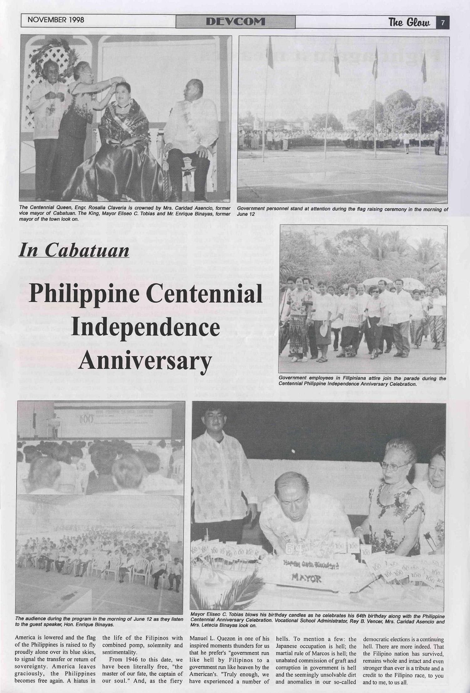 Philippine Centennial Celebration