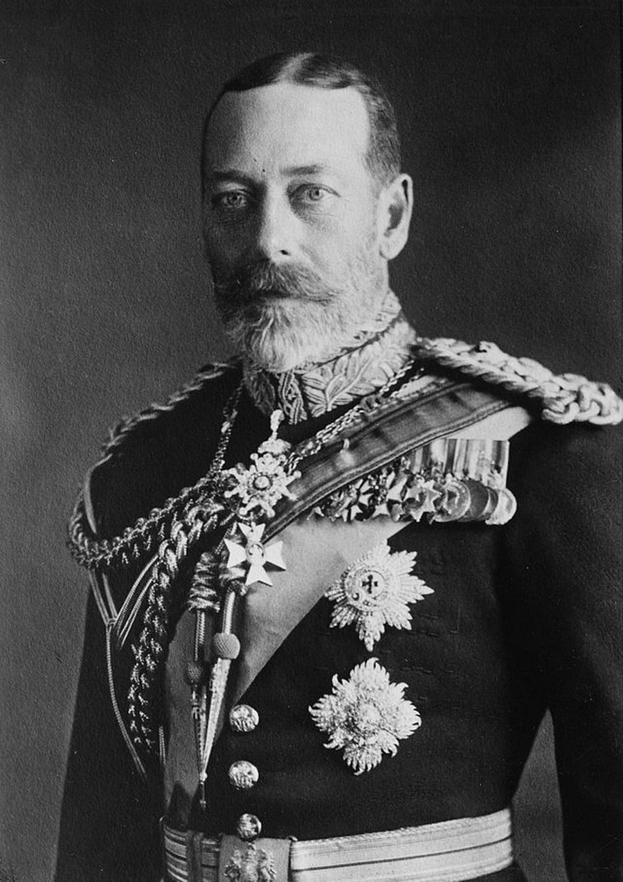 Photo by photographer Mr.George Grantham Bain (Bain News Service from 1898), HM The King George V, 1923