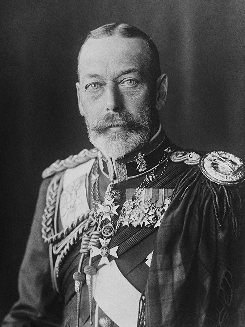 Photo by photographer Mr.George Grantham Bain (Bain News Service from 1898), HM The King George V