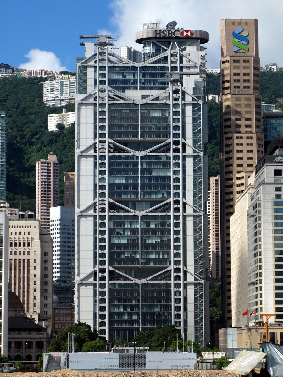 The Hongkong and Shanghai Banking Corporation new building