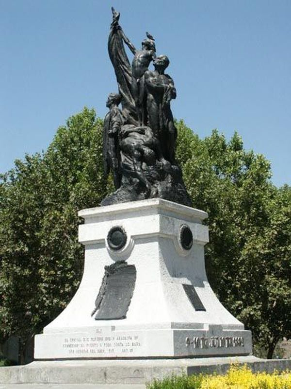 The Monument to the Heroes of La Concepción