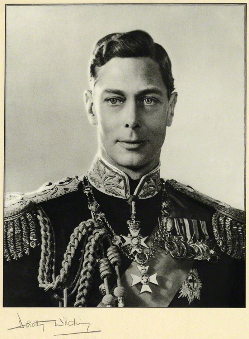 Photo by Dorothy Wilding, HM The King George VI after the Coronation Day, 1937