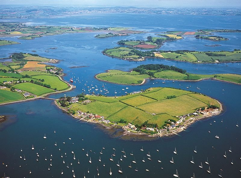 Strangford Lough in County Down