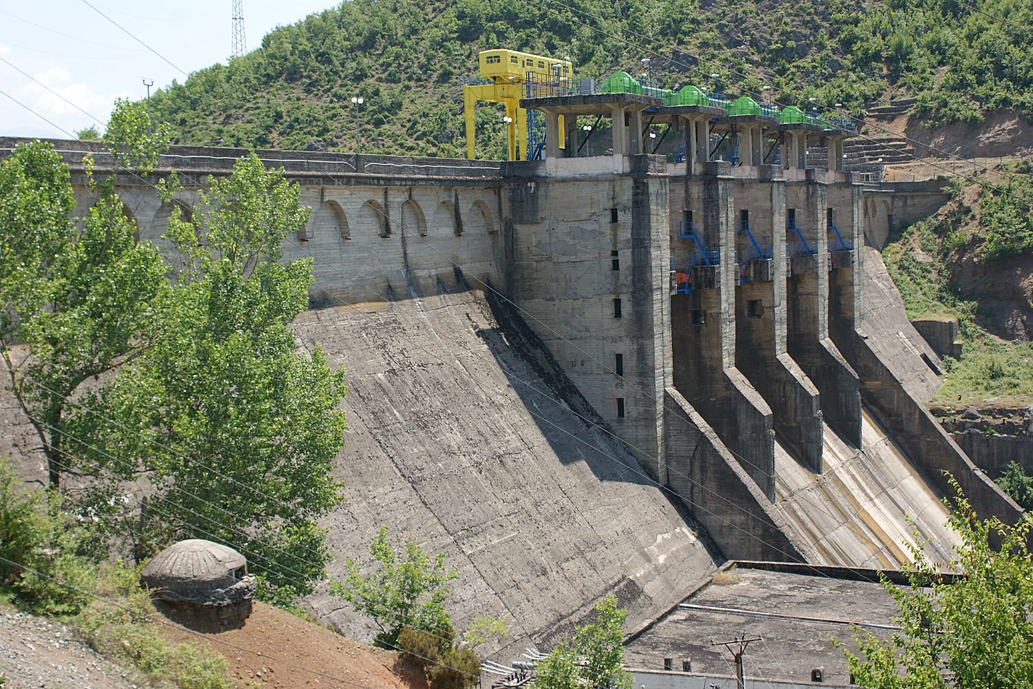 The Ulëz Hydroelectric Power Station