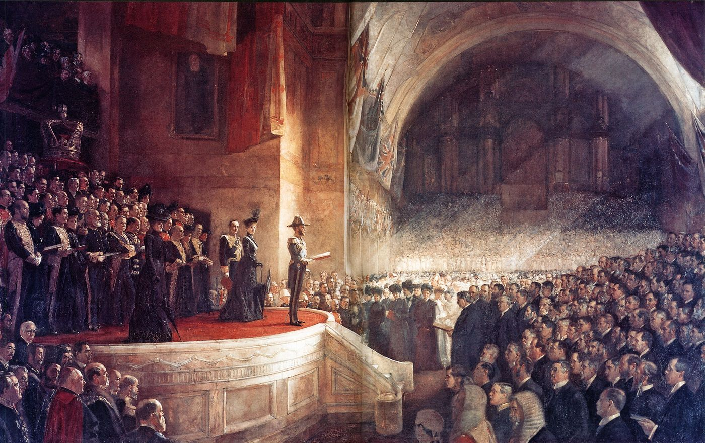 OPENING OF THE FIRST PARLIAMENT