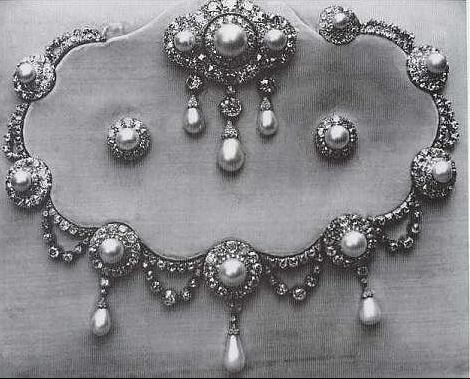 Queen Alexandra's Cluster Earrings