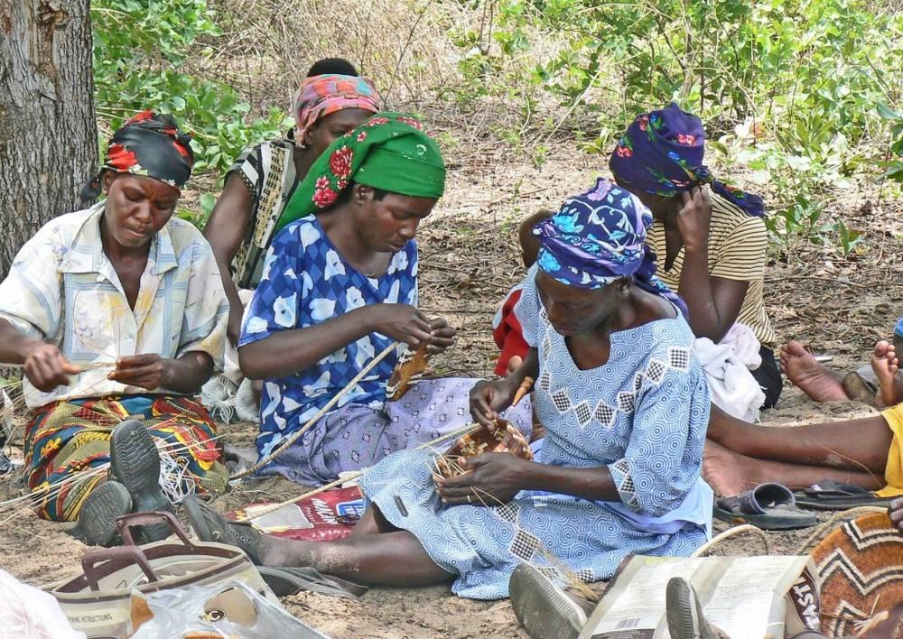 Basket Weaving Botswana : Description of pula
