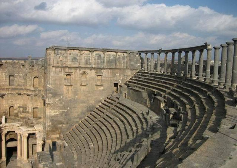 Bosra theater