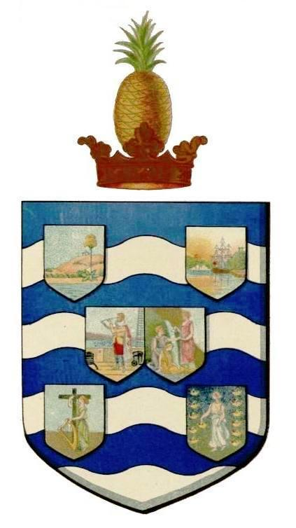 coat of arms of Leeward islands