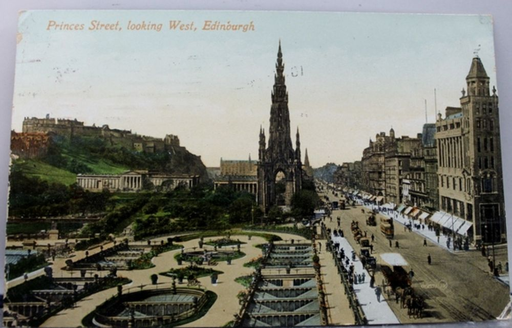 View of the of Edinburgh