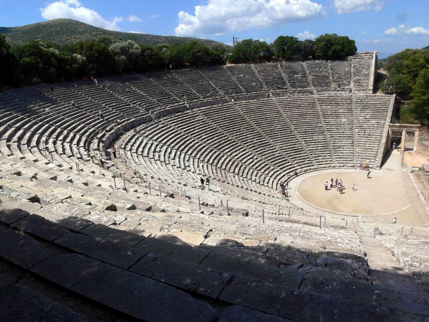 The Great Theatre of Epidaurus